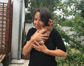 Carolina avec Chica
