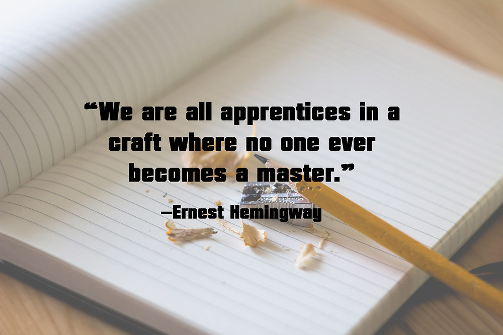 Author Quote About Writing - Ernest Hemingway