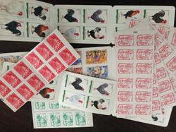Merci aux donatrices de timbres