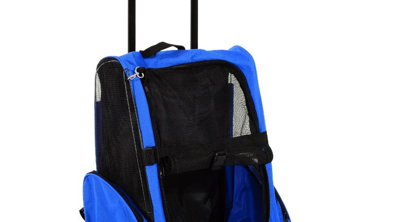 Sausage Dog Box Travel Trolly, Car Seat Carrier, Back Pack