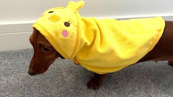Sausage Dog Box Dachshund Duckie Towel