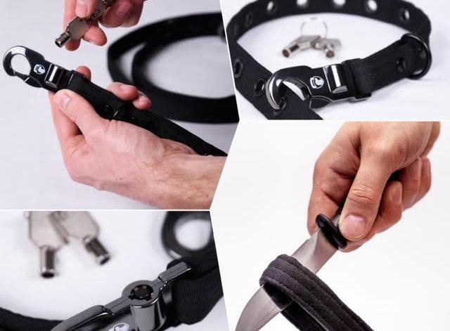Anti Theft Lock Dog Lead And Collar