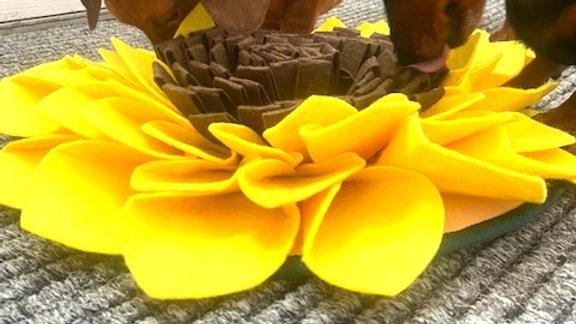 Sausage Dog Box, Dachshund Sunflower Anxiety Snuffle Mat