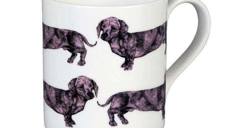 Sausage Dog Box, Dachshund Graduate Pink Dachshund, Sausage Dog Mug