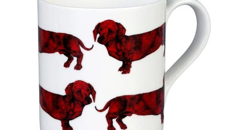 Sausage Dog Box, Dachshund Graduate Red Dachshund, Sausage Dog Mug
