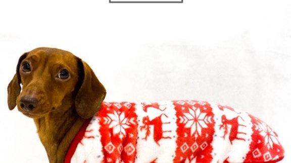 Sausage Dog Box, Dachshund Red Deer Pyjama / Jumper