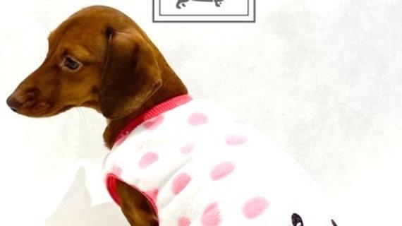 Sausage Dog Box, Dachshund Pink Bunny Pyjama / Jumper