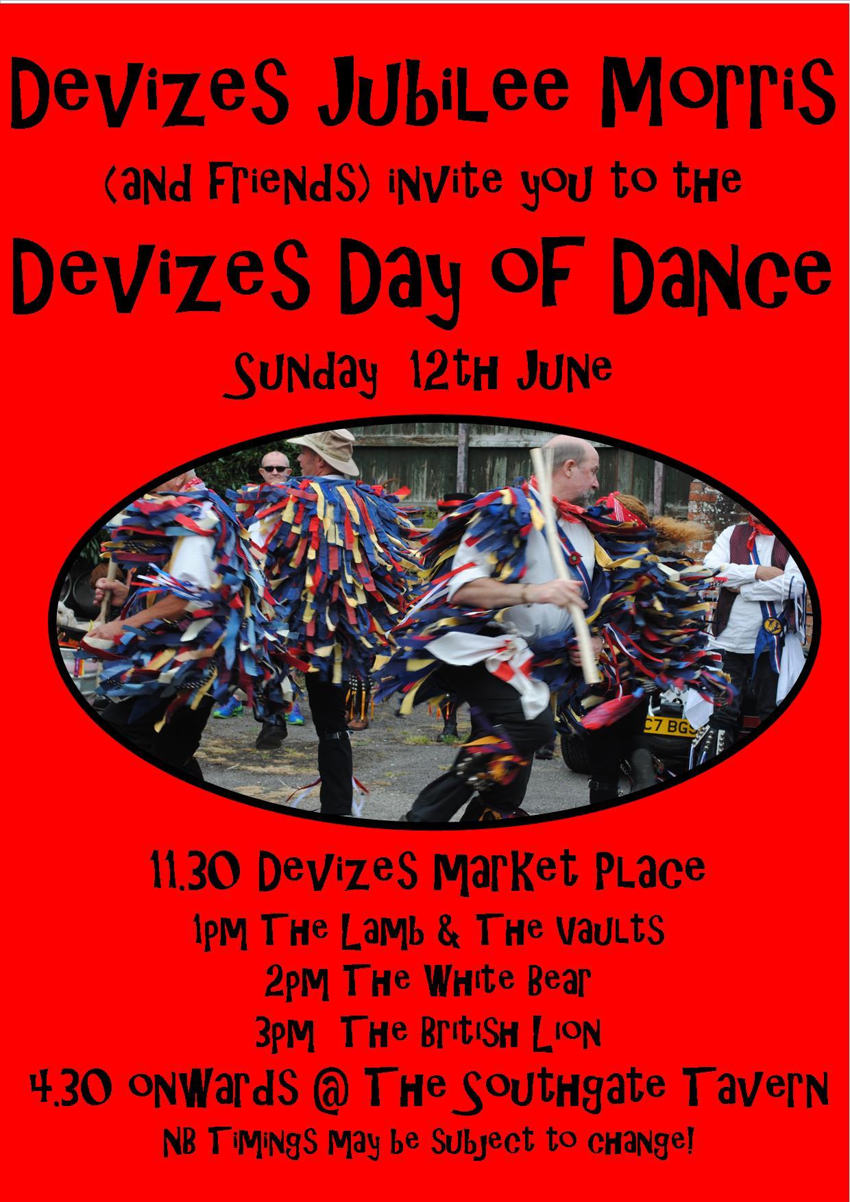 Devizes Day of Dance Poster 2016 V1