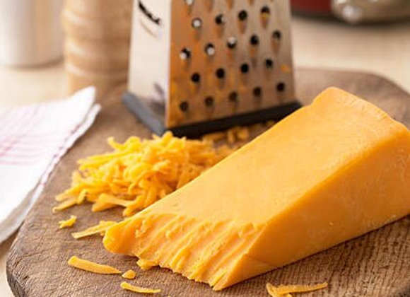 CHEDAR CHEESE BLOCKS +/- 250G