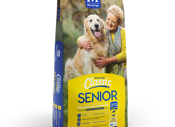 MONTEGO CLASSIC SENIOR DRY DOG FOOD 10KG
