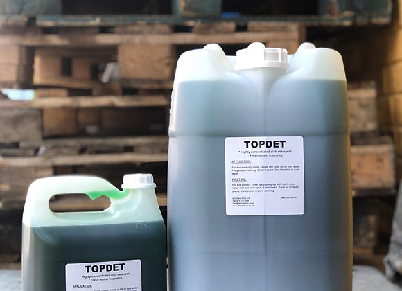 Topdet (Sunlight Liquid) Sizes available from 1L to 25L