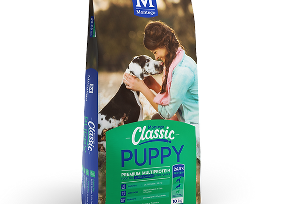 MONTEGO CLASSIC PUPPY LARGE TO GIANT BREED PUPPY DRY FOOD 10KG