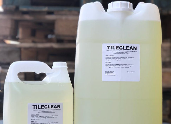 Tileclean (Tile Cleaner) - Sizes available from 1L to 25L