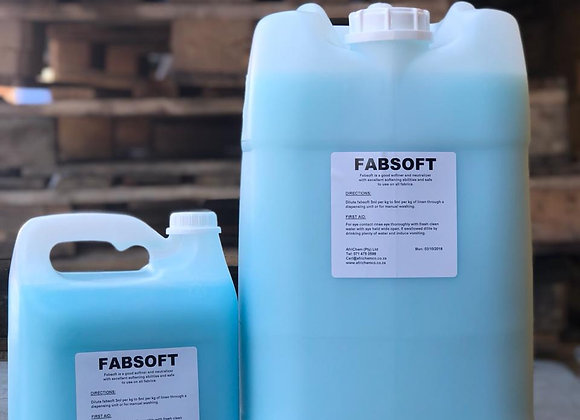 Fabsoft (Fabric Softener)   - Sizes available from 1L to 25L