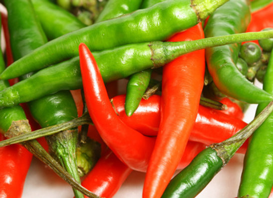 CHILLIES RED/GREEN PKTS (150G-200G)