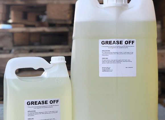 Grease Off (Oven Degreaser)    - Sizes available from 1L to 25L