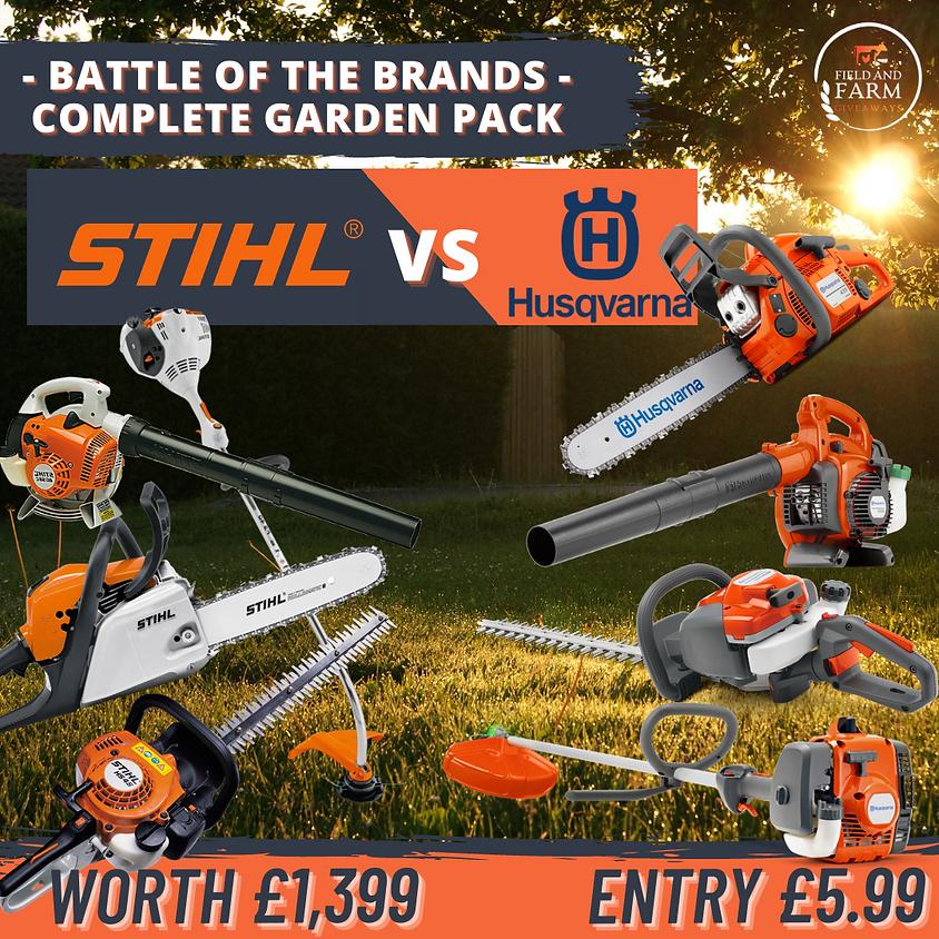 Battle of The Brands - Stihl vs Husqvarna Complete Pack!