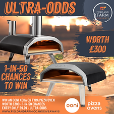 Carl was over the moon that on his birthday weekend, he was the winner of an OONI Pizza Oven! Carl chose the Gas version - the Koda 12!