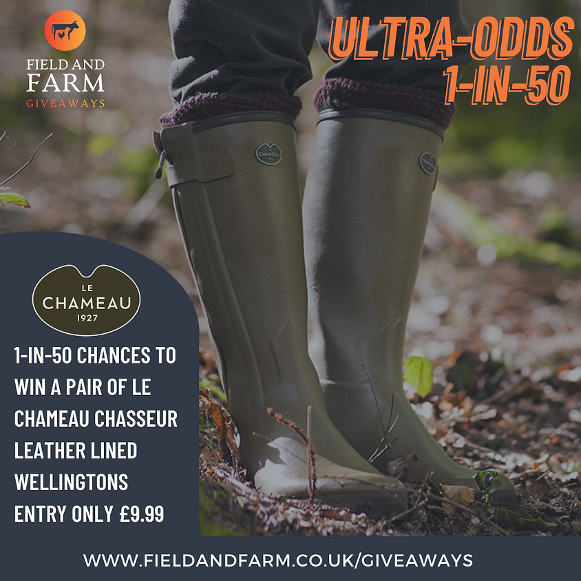 SOLD OUT!!! ULTRA-ODDS: Le Chameau Leather Chasseur 1-in-50 Chance!