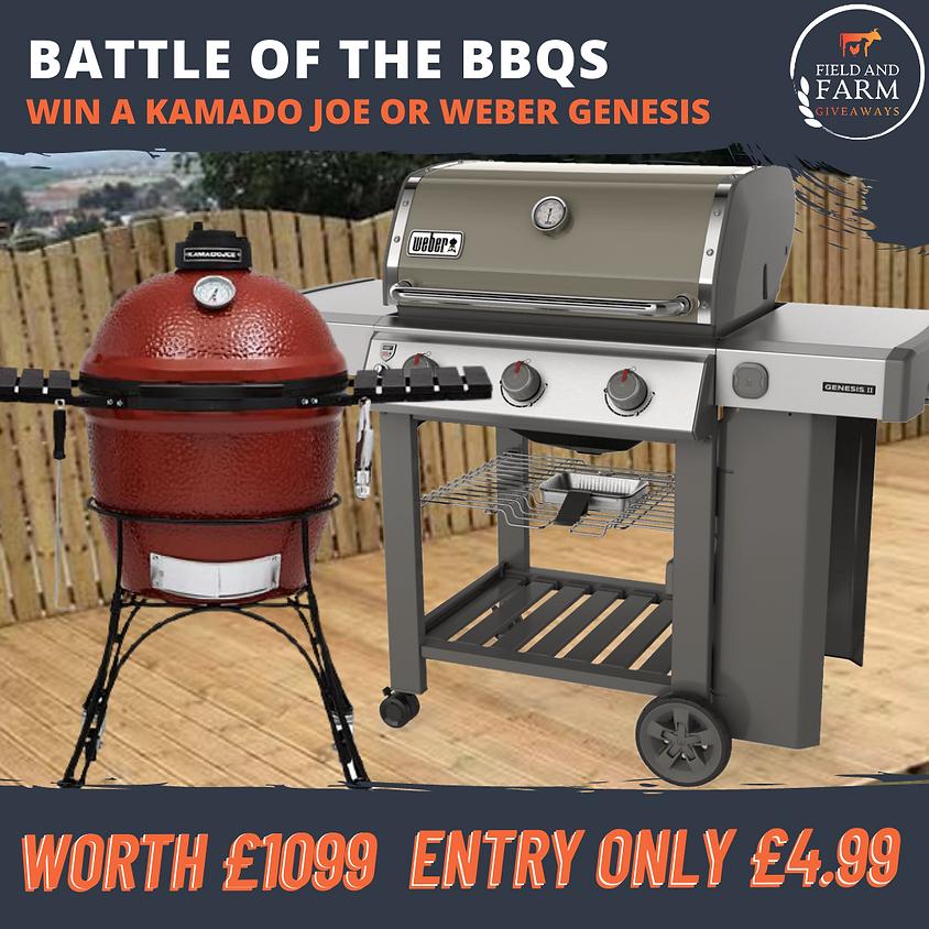Battle of The BBQs! Kamado Joe or Weber Genesis!