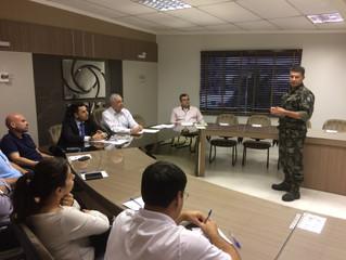 Polícia Ambiental faz apresentação ao Núcleo de Meio-ambiente na ACIT