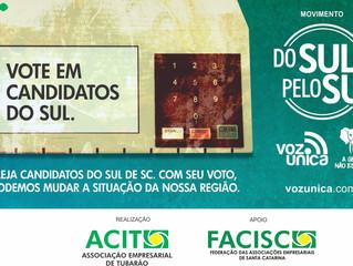 Do Sul pelo Sul: campanha busca fortalecer representatividade política na região