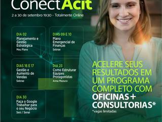 Setembro ConectACIT reúne empreendedores para capacitação e consultoria