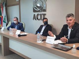 Empossados Presidente e Diretoria da ACIT para a Gestão 2020/2022