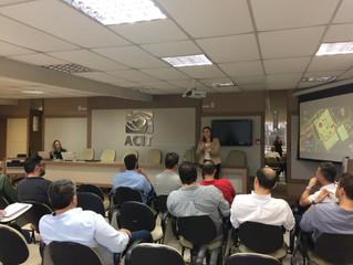 ACIT recebe FIESC para apresentação da SC Expo Defense