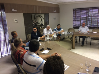 Promotor Sandro de Araújo é recebido pelo Núcleo de Meio-Ambiente na ACIT