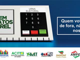 Voto pela Amurel: eleitos três deputados da região