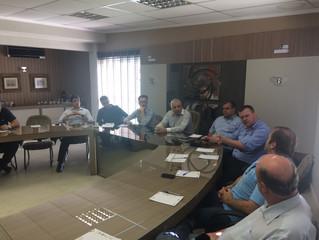 AGR e Procuradoria do Município participam de reunião do Núcleo de Meio-ambiente na ACIT