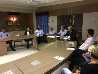 ACIT recebe prefeito e técnicos do BADESC