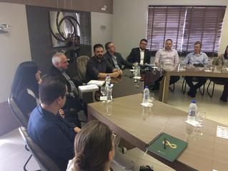 Visita de especialista de Israel a Tubarão busca gerar oportunidades de negócios