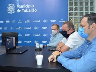 Município esclarece situações da pandemia para empresários por videoconferência
