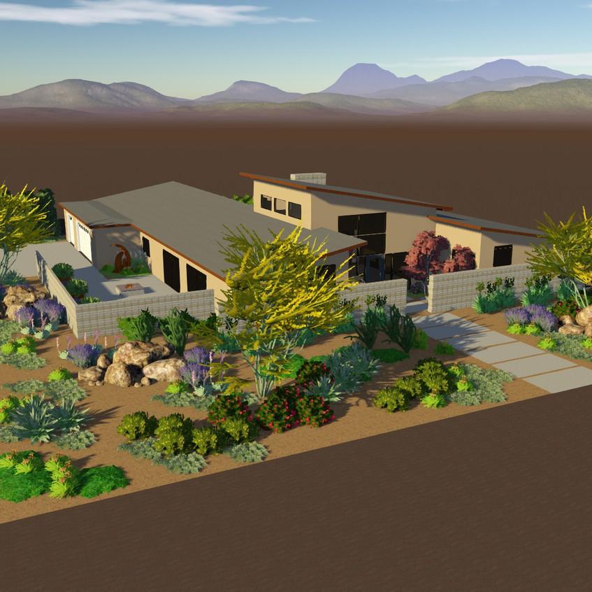 Bakersfield garden design