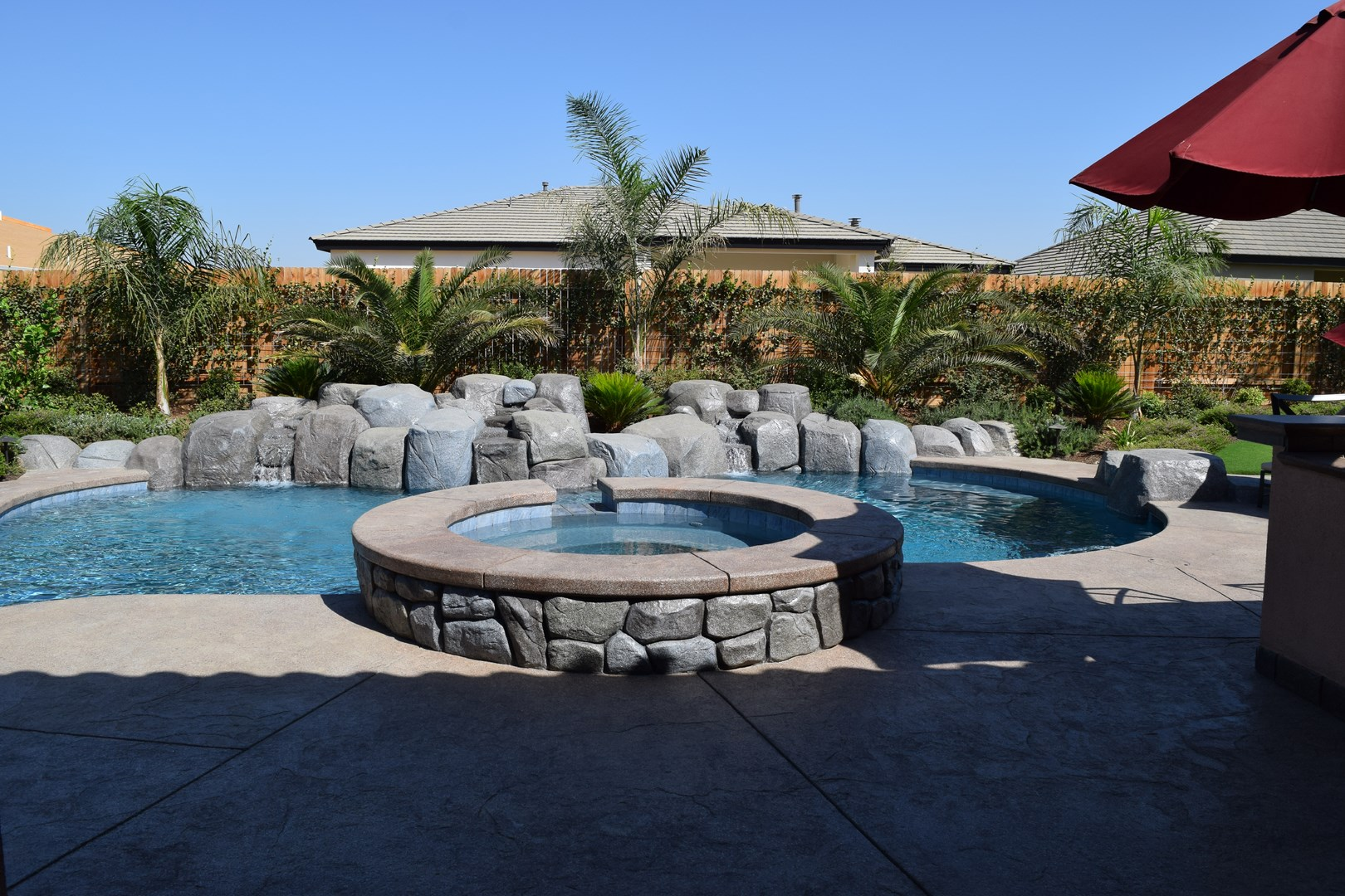 Bakersfield pool design