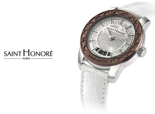 Saint Honore: Ladies Tour Eiffel Automatic - Parisian engineering elegance