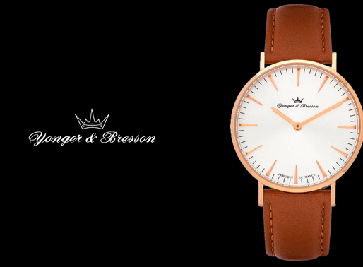 Yonger & Bresson, Slim Pink Gold Eternal charm and sleek lines