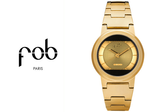 FOB Paris: RS Gold   Distinctive elegance equipped with engineering expertise