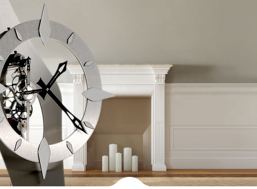 Utinam : Hortence Constence Intensely elegant, seductive sculpture clock