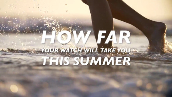 How far will your watch take you this summer? #1 Akteo