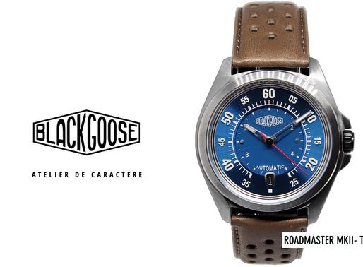 Black Goose: ROADMASTER MKII- Type BA True Gem, Capturing The Spirit Of Racing & Appealing Elegance