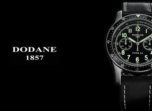 Dodane Type 23 Chronograph watch 1234567 A navigational instrument for all circumstances