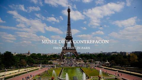 French Times In Paris presents Authen'Tic Tac at Musée de la contrefaçon.