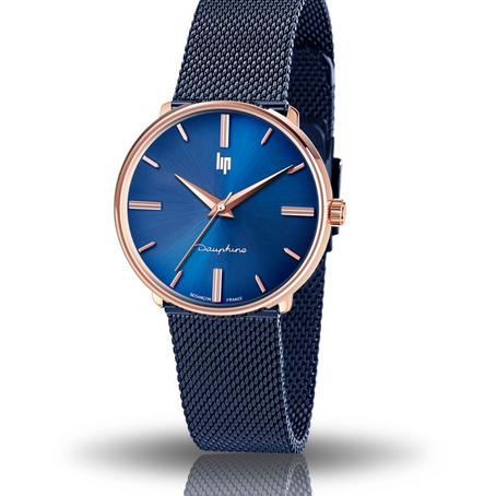 LIP : DAUPHINE 34 MM Unisex Dress Watch ref 671321
