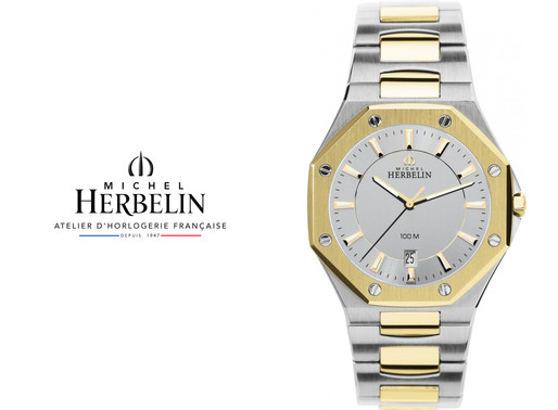 Michel Herbelin: Two Tone Odyssee Refined and beautiful timeless piece.