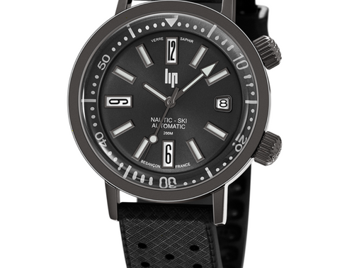 LIP: Nautic Ski Automatic 671508 Signature reliability, carefully designed to stand the test of time