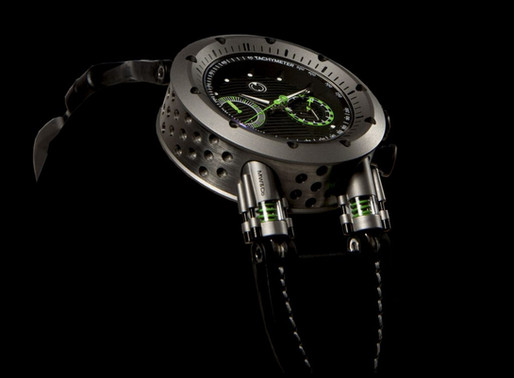 MW&Co Asset 2.1 Automatic flyback chronograph Inspiring, with finishes of rare elegance