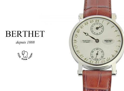 Berthet: Mechanical Mundu White – World Time  Esteemed Craftsmanship To Treasure
